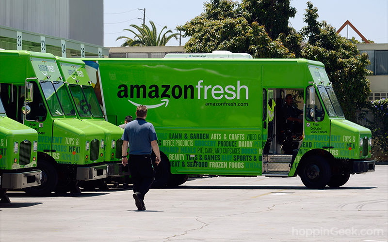 Jeff Bezos claims grocery delivery cuts carbon footprint by 43% compared to traditional shopping