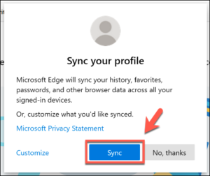 Edge-Sync-Profile