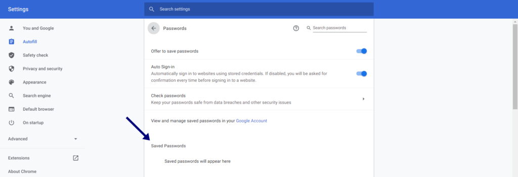 Export Chrome Bookmarks and export chrome Passwords