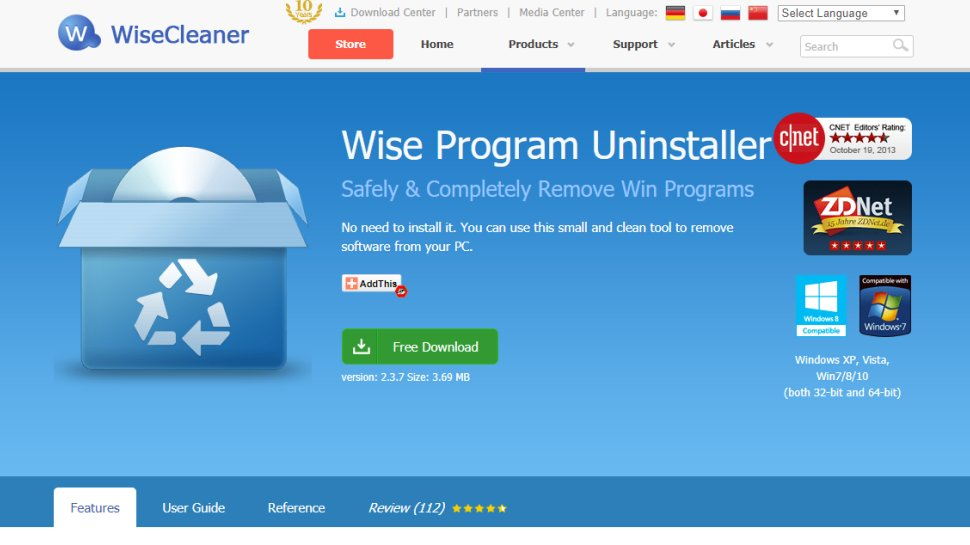 Free Software Uninstallers
