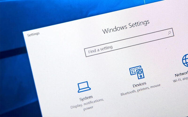 Reset Display Settings Windows 10, Reset Dis­play Set­tings to Default