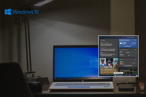 Disable News and Interests Widget, Disable News and Interests Widget on Windows 10 taskbar