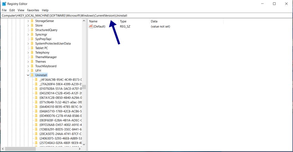 Force Uninstall Programs on Windows 10